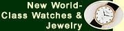 New Watches & Jewelry